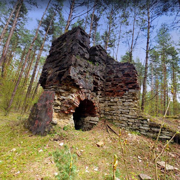 Ruiny Fabryki Prochu - Ogrodzieniec