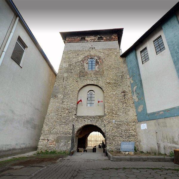Wieża wyciągowa w Porębie